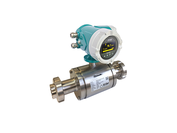 Electromagnetic Flowmeter for Food and Pharmaceutical Industries