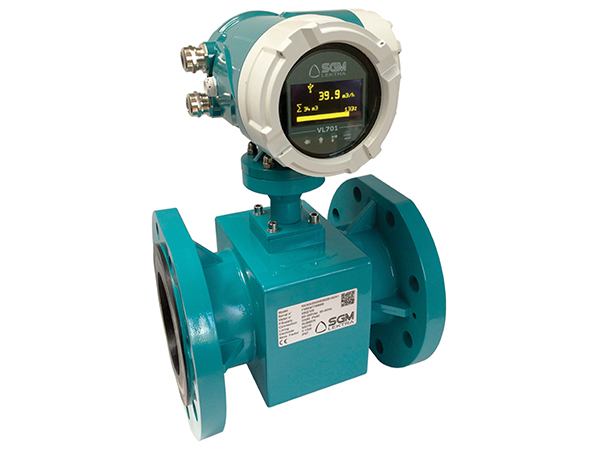 Electromagnetic Flowmeter for Compact Installations